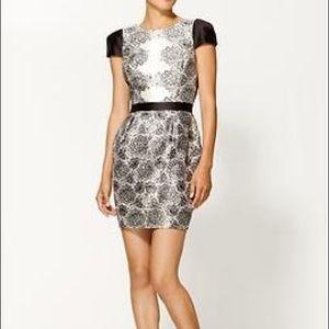 NWT- Tibi Natalia Cap Sleeve Dress size 8